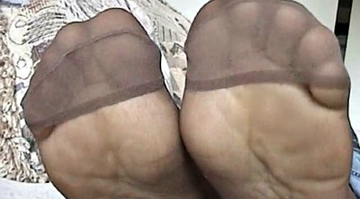 Sole, Pantyhose feet, Black pantyhose