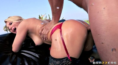 Ashley fires, Ashley, Oiled anal, Gaping