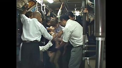 Bus, Japanese bus, Japanese gangbang, Japanese bukkake, Japanese outdoor