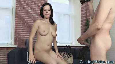 Casting anal, Busty pov, Anal casting