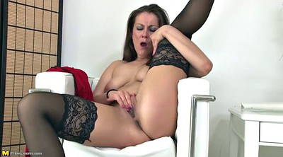 Stocking, Stocking fuck, Stocking mature, Mothers