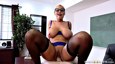 Bridgette b, Bridgette, Classroom, Stockings teacher, Riding cock