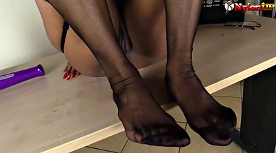 Stockings, Shoes, Stockings heels, Shoe fetish