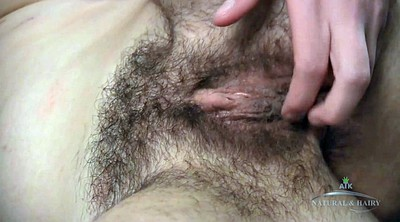 Hairy pussy, Ass show