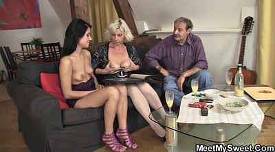 Mature old, Mature threesome, Mom dad, Mom and dad, Old daddy