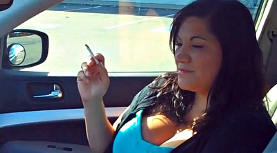 Smoking, Mature woman