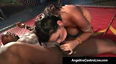 Fight, Bbw bbc, Cage, Cages, Fighting, Cock cage
