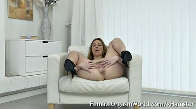 Mature orgasm, Hairy pussy