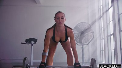 Nicole aniston, Nicole aniston creampie, Aniston, Black gym