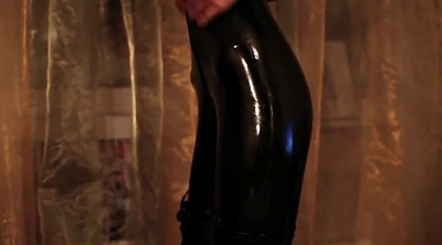 Boot, Latex, Boots, High, Pvc, Black girls