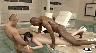 Double, Interracial anal, Two, Limit
