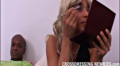 Interracial, Crossdresser, So big, Crossdressers