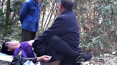 Asian granny, Forest, Mature asian, Granny asian