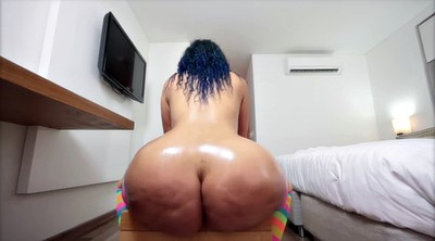Oil massage, Big ass solo, Ass mature