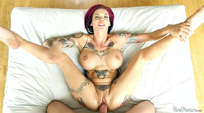 Missionary, Anna bell peaks, Anna, Monster cock, Pov blowjob, Monster creampie