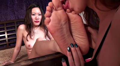 Chinese foot, Asian foot, Chinese lesbian, Foot worship, Lesbian foot worship, Chinese fetish