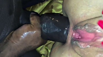 Gaping pussy, Monster cock, Monster cock anal
