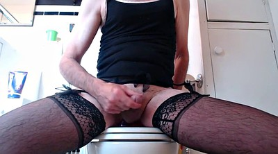 Big ass, Ruined orgasm, Gay dildo