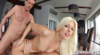 Threesome anal, Group creampie