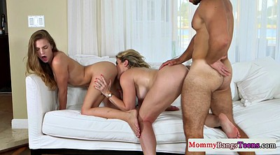 Teacher, Under table, Young guy, Mature teacher, Mature doggy