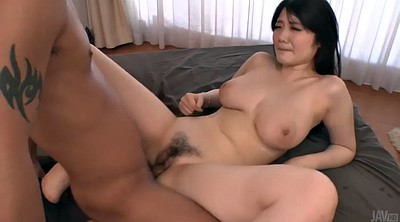 Creampie, Hairy, Japanese double, Threesome creampie, Nut, Japanese orgasm