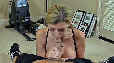 Gym, Busty mom, Mom pov, Mom tits, Mom cum