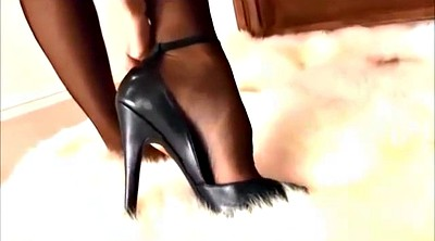 High heels, Stockings high heels, Black stockings, Stockings heels, Stockings high, Stocking heels