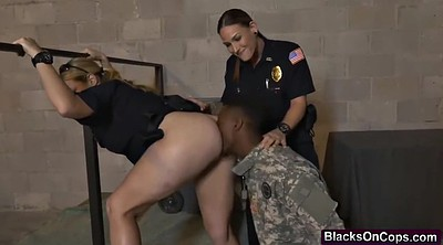 Female soldier, Jail, Big black, Soldier