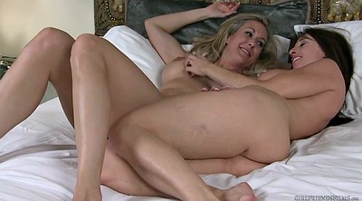Wife, Brandi love, Brandy love, Brandy, Mature big tits, Lesbian wife