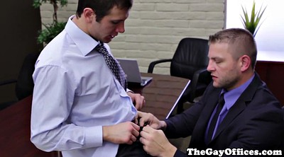 Muscle, Gay office, Big cock gay