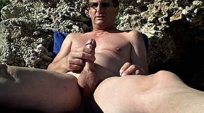 Beach, Gay beach, Public masturbation, Beach masturbation