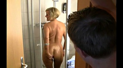 German mature, Anal mature, Shower mature