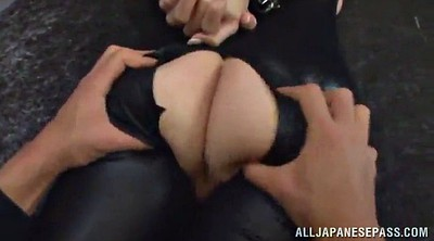 Toy, Double asian, Double blowjob