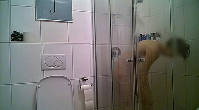 Hidden shower, Hidden pee, Wife hidden, Hidden wife