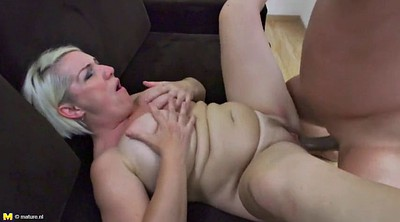 Old slut, Young boy, Milf boy