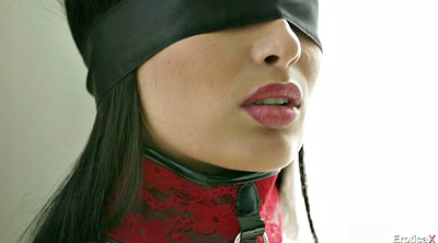 Nipple piercing, Blindfolded
