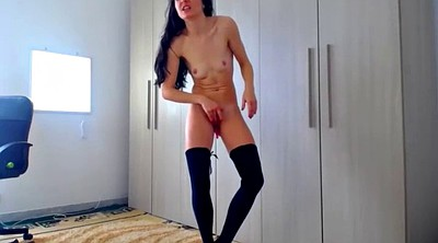 Orgasm, Peeing, Webcam orgasm, Webcam squirt, Solo squirting