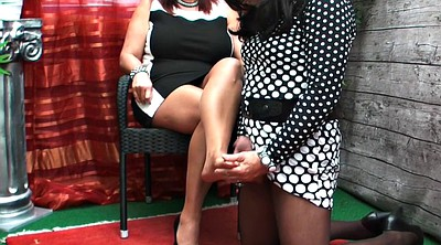 High-heeled, Bbw feet, Shemale small cock, Shemale feet, High heels, Bbw shemale