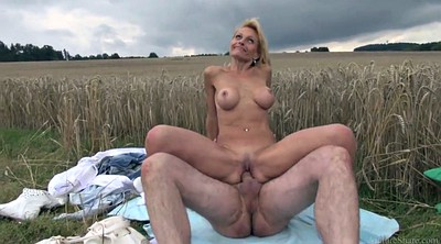 Sexy, Skinny old, Outdoor mature