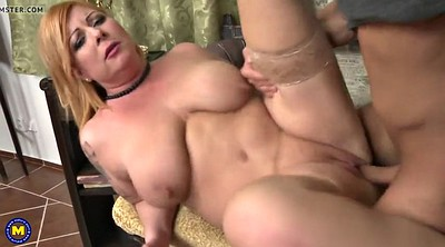 Saggy, Saggy tits, Young boy, Mom boy, Mature bbw, Bbw mom