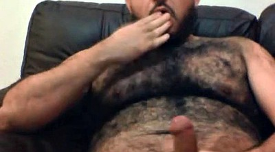 Hairy masturbation, Bears, Bear gay