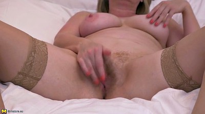 Real mom, Lingerie, Hairy pussy, Granny hairy, Real moms
