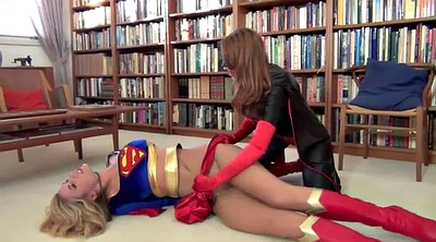 Cosplay, Supergirl, Fight, Cat