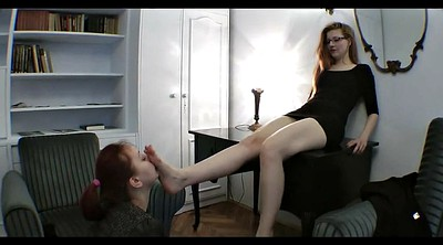 Nylon feet, Foot worship, Pantyhose foot, Mistress worship