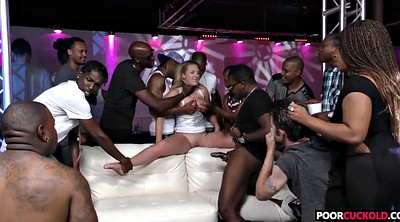 In front of, Cuckold interracial