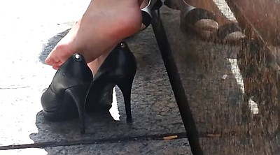 Heels, Shoes, High heels, Shoe, Candid feet