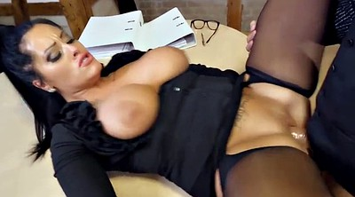 Big tit, Boss, Milf secretary