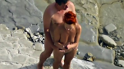 Caught, Beach sex, Public couple, Beach voyeur