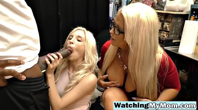 Mom, Daughter, Mom threesome, Mom daughter, Mom and daughter, Blonde mom