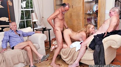 Farting, Teen gangbang, Granny gangbang, Young blonde, Old farts, Granny group